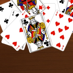52 Card Pickup on Pogo - Play 52 Card Pickup and get ready for plenty of card game fun! Available for free on Pogo.com today! - logo