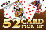 Play 52 Card Pickup and get ready for plenty of card game fun! Available for free on Pogo.com today!