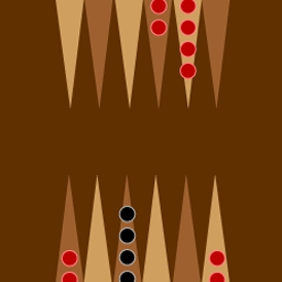 Backgammon on Pogo - Challenge a friend and show off your moves in Backgammon! Play online for free at EA's Pogo. - logo
