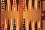 Screenshot of Backgammon on Pogo