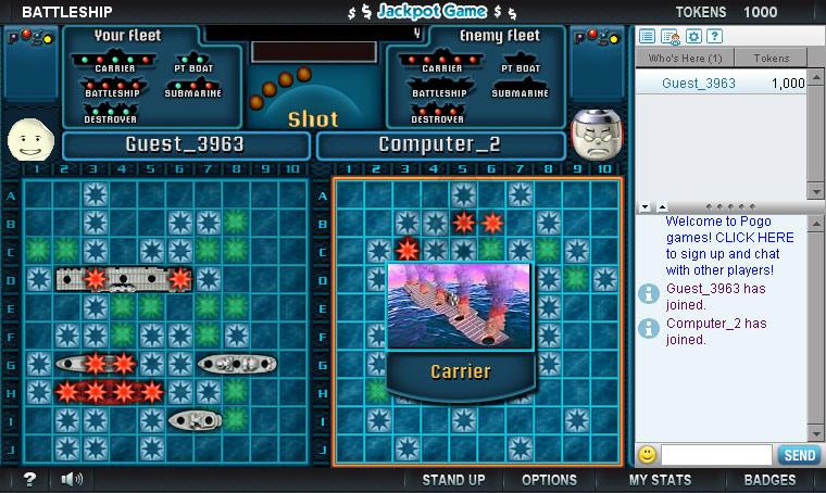BATTLESHIP Naval Combat Online screen shot