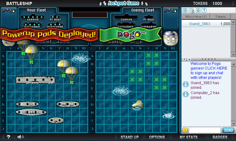 BATTLESHIP Naval Combat Online screen shot