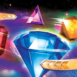 Bejeweled Twist on Pogo - Get set for a vivid sensory rush as you spin and match explosive gems for shockwaves of fun. Play Bejeweled Twist on Pogo.com today! - logo
