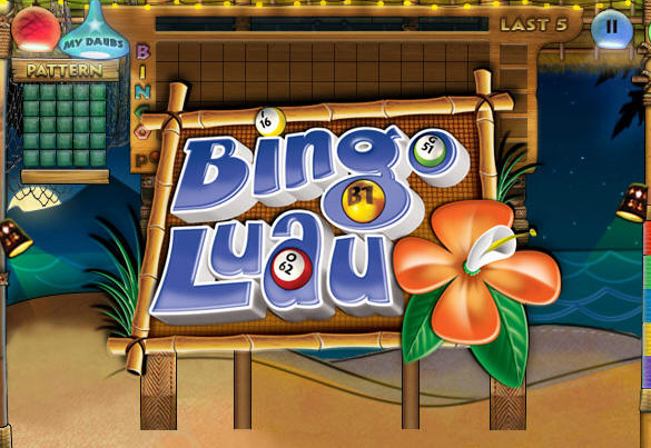 Bingo Luau on Pogo screen shot