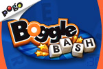 Play the BOGGLE BASH game for free at EA's Pogo! The pressure is on as you try to find the most words with the BOGGLE BASH game timer ticking away.
