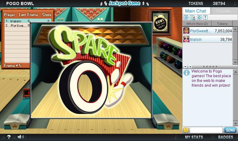 Pogo Bowl screen shot