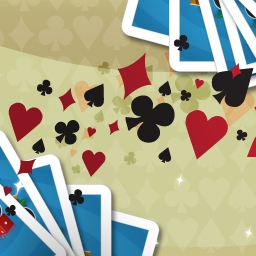 Bridge on Pogo - Partner with a friend or make a new one in Bridge. It takes two to make a winning hand! Show off your card skills in Pogo.com's free game. - logo