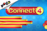 Play the CONNECT 4 game free online with EA's Pogo.