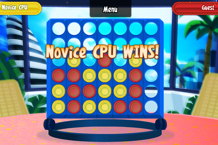 CONNECT 4 screen shot
