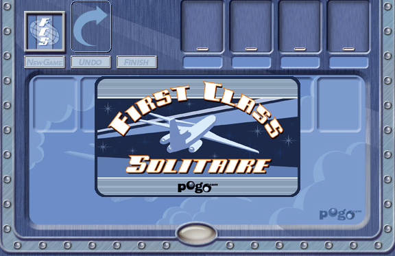 First Class Solitaire on Pogo screen shot
