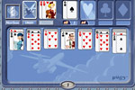 Screenshot of First Class Solitaire on Pogo