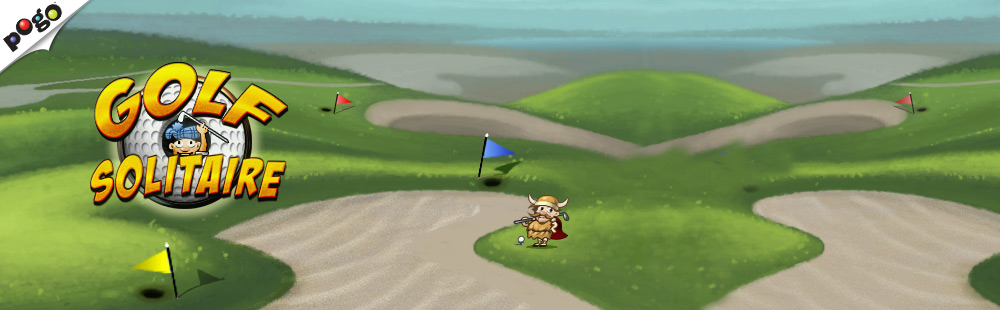 Golf Solitaire on Pogo