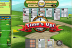 Screenshot of Golf Solitaire on Pogo