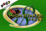 Practice your skills to prepare for the big time in High Stakes Poker, a free online five-card draw poker game!