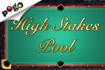 Play High Stakes Pool online for free at EA's Pogo! Play against friends, the computer, or just knock around a few practice balls.