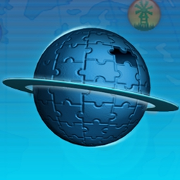 Jigsaw Treasure Hunter on Pogo - Travel the world one piece at a time in Jigsaw Treasure Hunter, the free online jigsaw picture puzzle game! - logo
