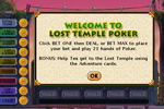 Screenshot of Lost Temple Poker