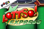 Play Lottso! Express, Pogo's free Lottery Scratcher game with a Bingo twist!