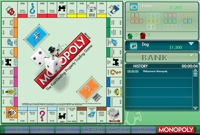 games monopoly online