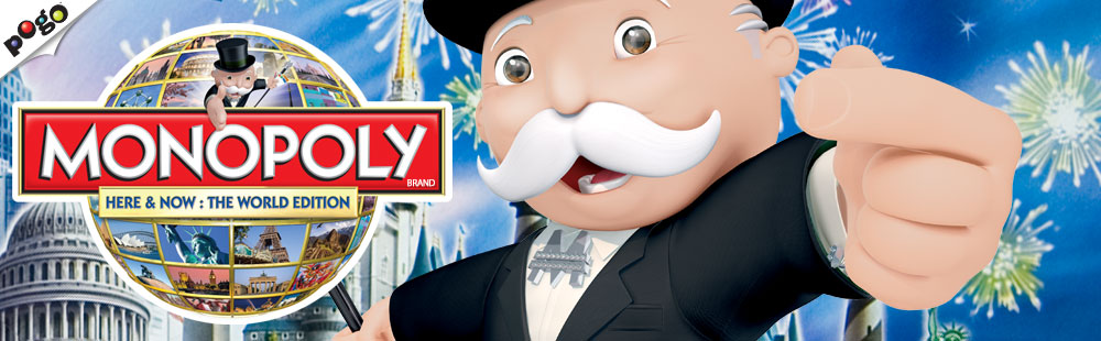 MONOPOLY: HERE & NOW World Edition