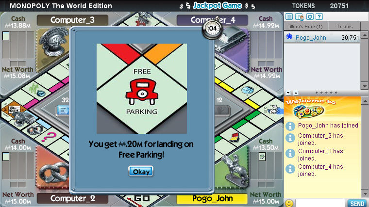MONOPOLY: HERE & NOW World Edition screen shot