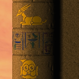 """Phlinx on Pogo - The mystery of the Phlinx is beckoning you. In this match 3 puzzle game, the darkest secrets of the """"Pharaoh"""" and """"The Sphinx"""" are revealed! - logo"""