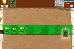 Screenshot of Plants vs. Zombies on Pogo