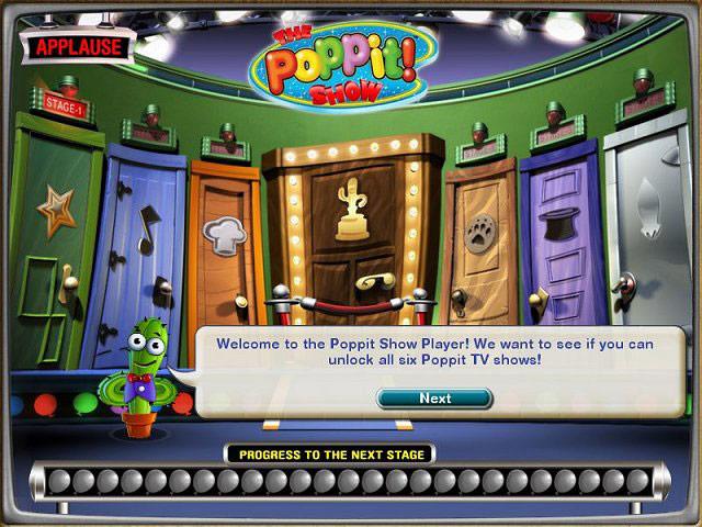 The Poppit! Show screen shot
