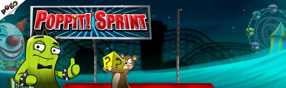 Poppit! Sprint on Pogo