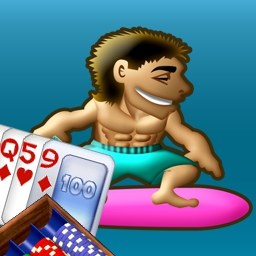 Ride the Tide - Guess higher or lower to Ride the Tide in this free online poker game. - logo