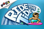 Guess higher or lower to Ride the Tide in this free online poker game.