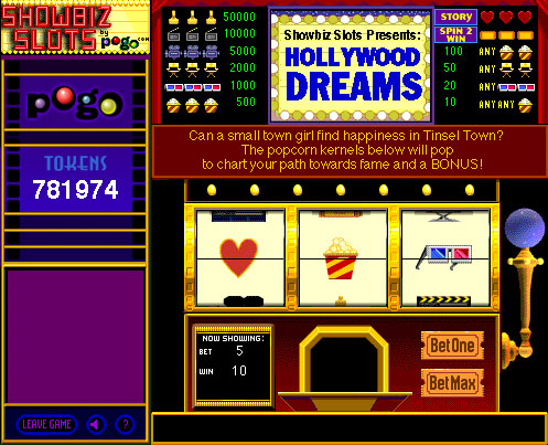 Showbiz Slots screen shot