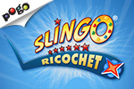 When bingo is calling, why not play Slingo Ricochet on Pogo.com? On Pogo, you'll be playing more quickly than you can say the word 'Bingo!'