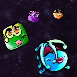 Snood on Pogo - Teleport all snoods off and around the playfield. A puzzle game sure to keep you coming back! Play online today! - logo