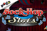 Rock and Roll your luck with Sock Hop Slots, a rocking online casino slots game. Earn tokens and follow Rocky Duck's adventures!