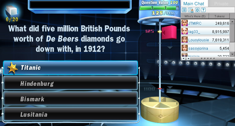 Trivial Pursuit Daily 20 screen shot