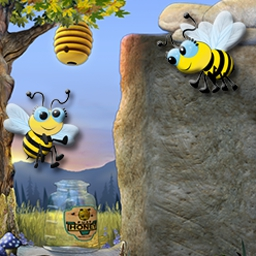 Tumble Bees on Pogo - Play this free online word search game and see what the buzz is about--it's the sweetest spelling bee online. Play Tumble Bees for free at EA's Pogo! - logo