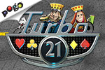 Hit, hit, hooray! It's Turbo 21, one of the most exciting free casino games online. Play it free online at EA's Pogo.