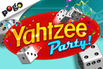 YAHTZEE Party is a synchronized multiplayer game where players have up to 6 minutes to complete 13 rounds of Yahtzee.