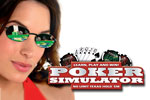 Have you been practicing your Poker face? Play Poker Simulator today and brush up on your No Limit Texas Hold 'em skills.