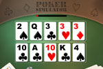 Screenshot of Poker Simulator