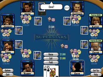 Poker Superstars II screen shot