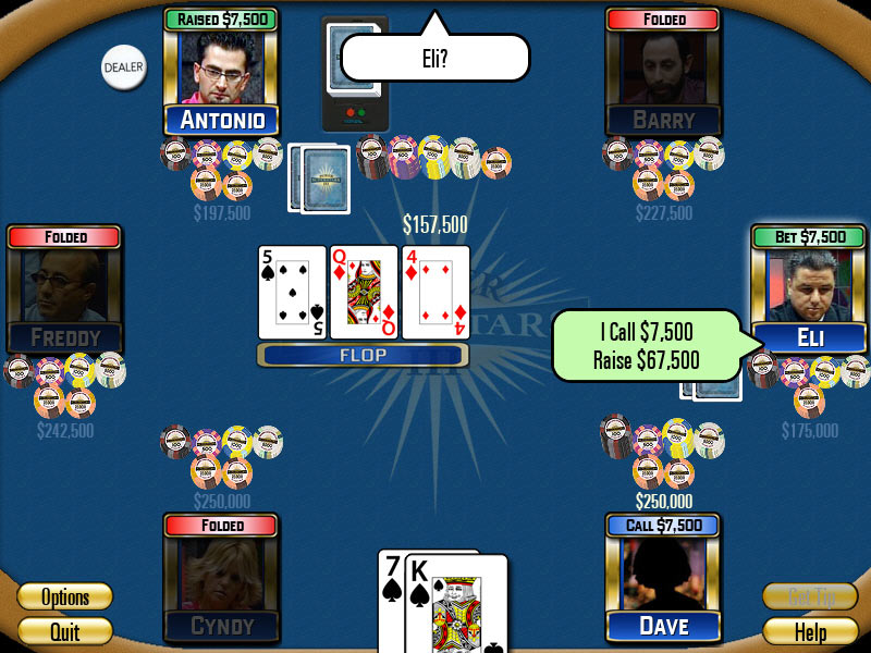 Poker Superstars III screen shot
