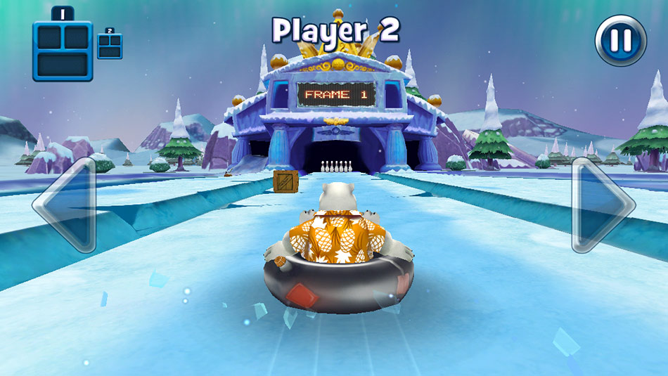Polar Bowler 1st Frame screen shot