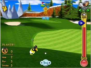 Polar Golfer screen shot