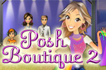 Posh Boutique 2 features new stores, mini-games, outfits, and more!