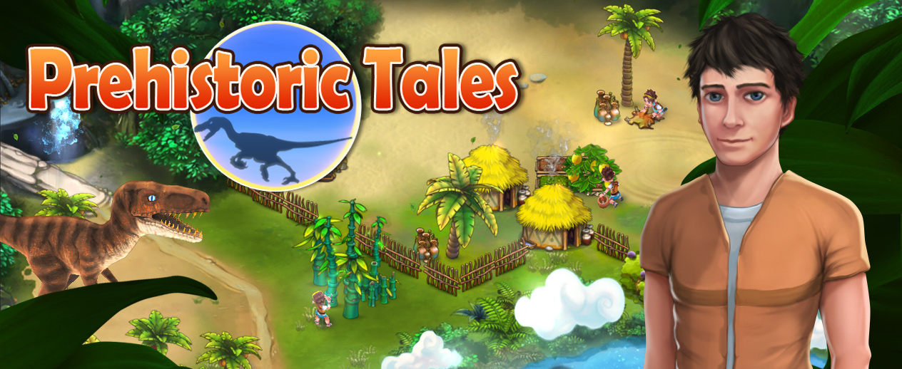Prehistoric Tales - Build and protect a village! - image