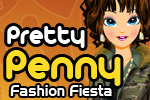 Pretty Penny: Fashion Fiesta is a FREE dress-up game for girls. Help Penny dress to impress and look chic all day long.