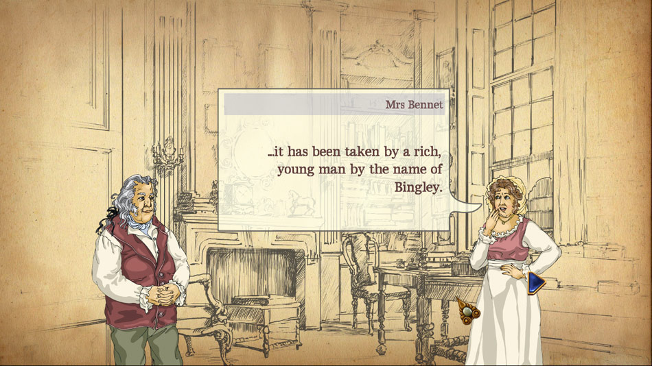 Pride and Prejudice screen shot