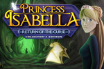 An evil witch returns a year later in Princess Isabella: Return of the Curse, the Collector's Edition. Play through 200+ haunting scenes!